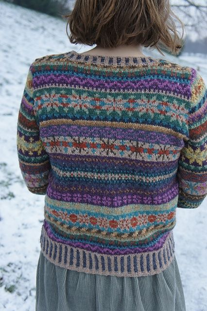 81 best Fair isles images on Pinterest | Fair isle knitting ...