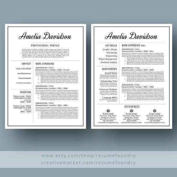 13 best Resumes images on Pinterest Resume, Curriculum and Cv - contemporary resume examples