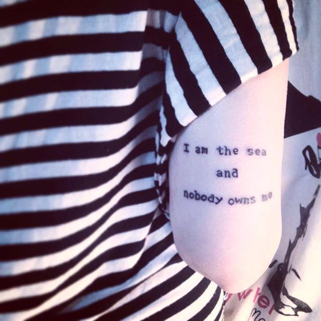 Pin for Later: 31 Ink Ideas That Empower Women Nobody Owns Her