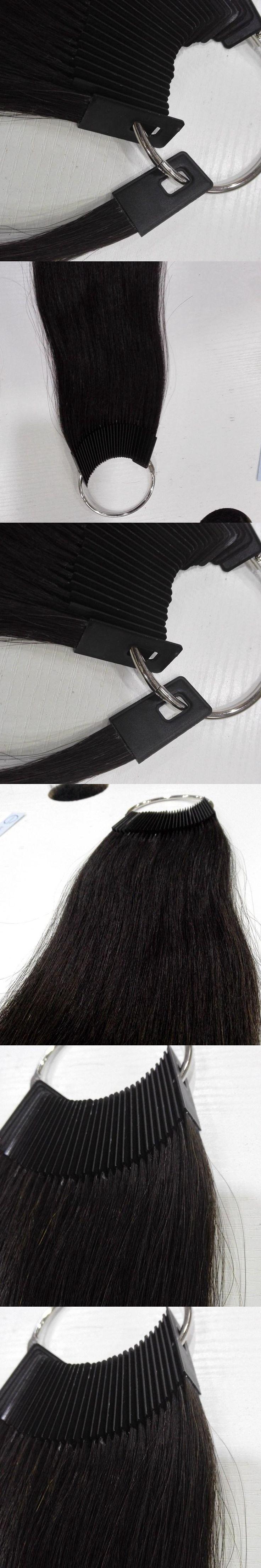 8 inch human hair color ring 30pcs/set for salon hair  color chart natural 3colo/lot