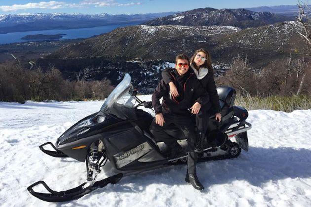 O casal de atores viajou junto para a Argentina (Reprodução/ Instagram)