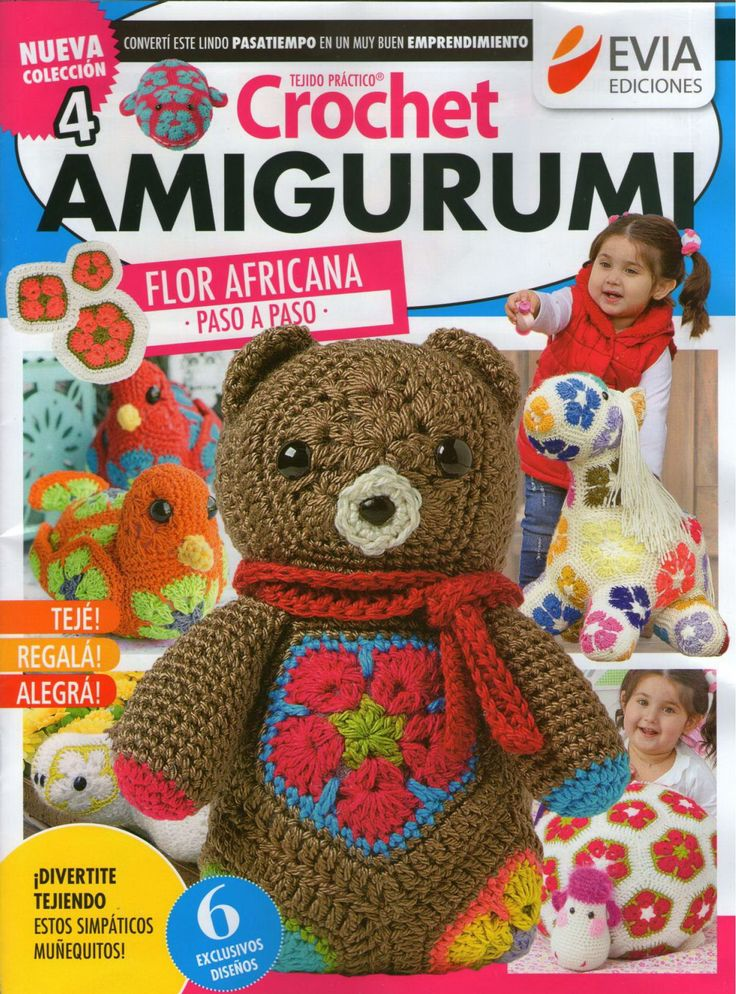 Knitting Crochet In Spanish : Croche g magazines knit and crochet