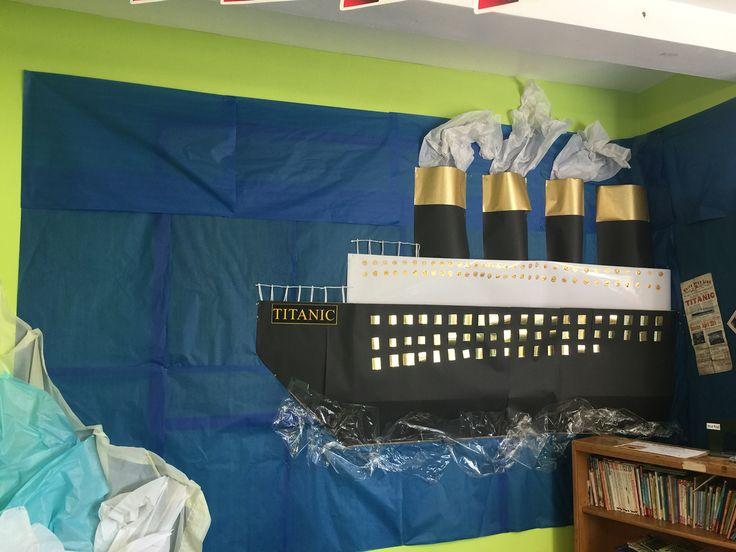 Titanic Classroom Display Class Elem Titanic Titanic
