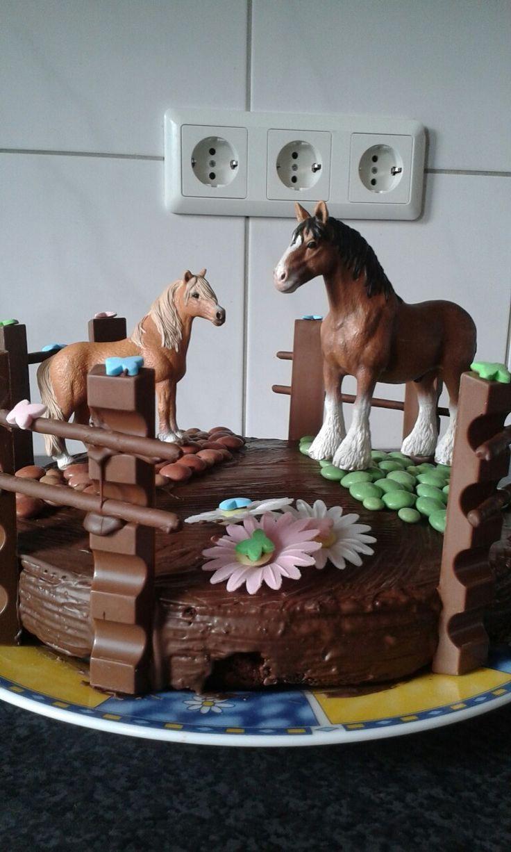 Torte mit Pferden – Kochen – # – Rezepte – #aux #auxvaux #cuisson #Rezepte #t …   – Gateau anniversaire
