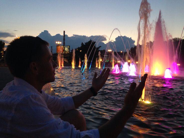 Иваново и его поющий фонтан