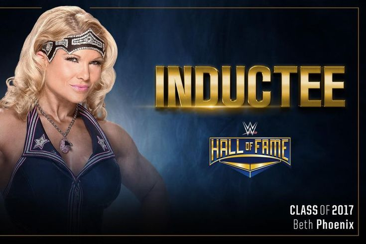 Beth Phoenix's WWE Hall Of Fame Inductor Revealed