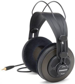 Samson-sr850 8 Good n Cheap Headphones with Studio Quality Sound: under $50 http://ehomerecordingstudio.com/good-cheap-headphones/