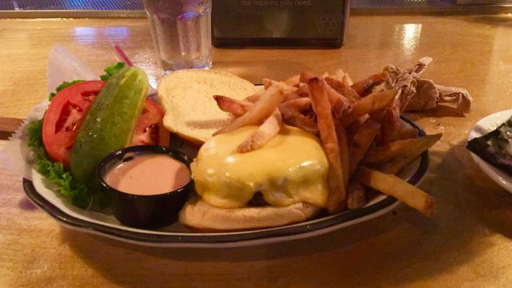 The all American burger from black tap