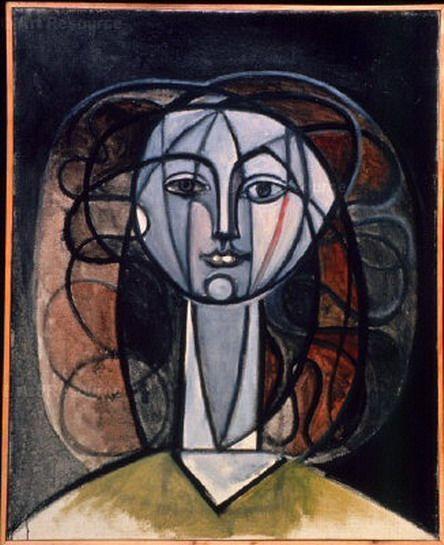 """Pablo Picasso - """"Françoise"""". 1946"""