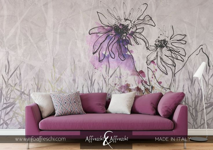 Exclusive floral design reproduced on real plaster #fresco #affresco #affreschi #mural #walldesign #homedecoration #interiordesign #interiorismo #designdinterieur #amenajariinterioare #architecture #houzz #archiliving #archidaily #arquiteturadeinteriores #arquidecor #archilovers #homedecorating #walldesign #salonedelmobile #isaloni #elledecor #deko #wallpaper #behang #papeldecorativo #papierpaint #floral #floraldesign #flowers