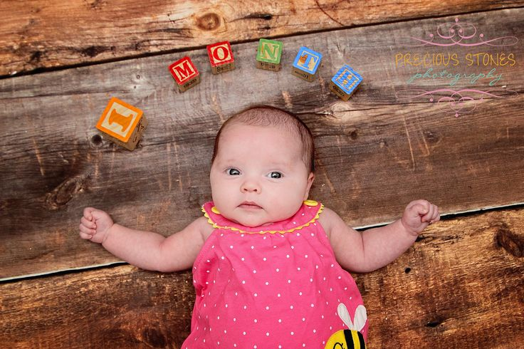 1 Month old baby photography Precious Stones Photography