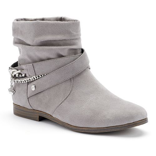 Juicy Couture Kaydan Women's Slouch Ankle Boots