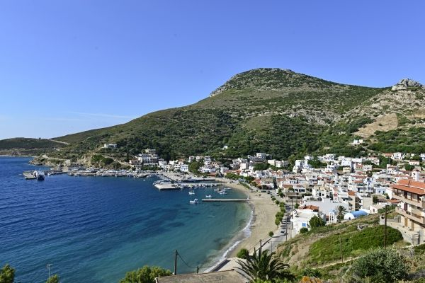 View of Fourni Town