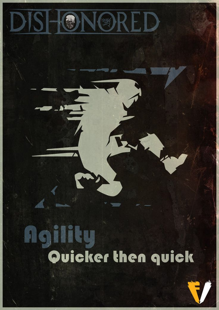Dishonored Agility by FALLENV3GAS