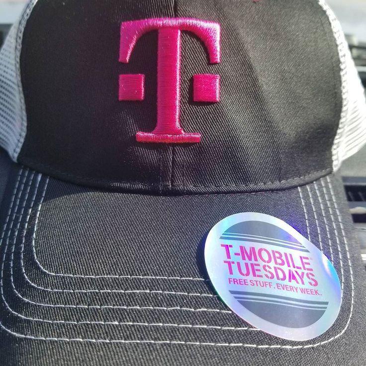 @TMobile Tuesday #freebie  #PTCares #free #Thankiversary #hat #TMobileTuesday