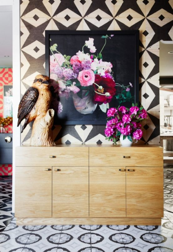 See Bonnie and Neil's delightful new Melbourne store: In their first store, built at the front of their design studio, they have combined their skills to create a truly unique and lively retail space — the interior is patterned wall to wall and floor to ceiling with Bonnie and Neil designed tiles.