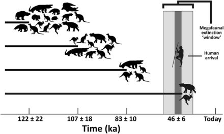 late pleistocene extinctions overkill or climate change I thought i should continue my assessment of articles presenting evidence against the climate change hypothesis just so i'm not too bias this article is by alroy (2001.