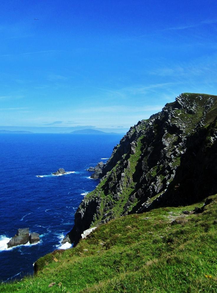 Western Cliffs of Valentia Island, Co. Kerry, Republic of IrelandKerry Wildatlanticway, Westerns Cliff, Ireland Scotland, Valentia Islands, Irish, Wonder View, Ireland Failt, Ireland Wonder, Incredibles Ireland