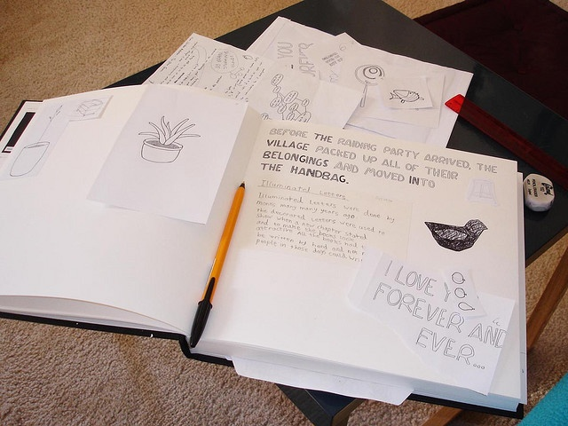 ideas book by this chicken, via Flickr: Ideas Book, Brainstorming Ideas