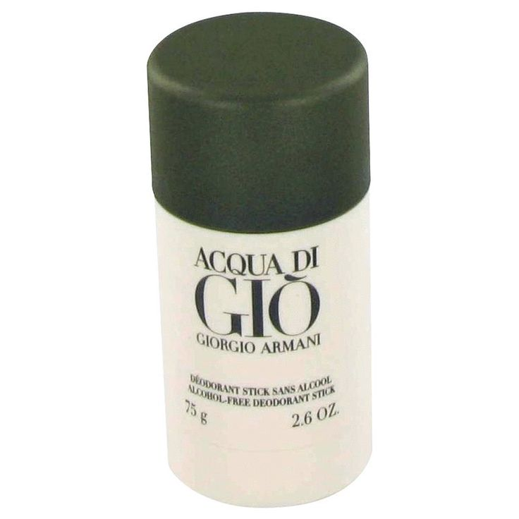 New #Fragrance #Perfume #Scent on #Sale  ACQUA DI GIO by Giorgio Armani 2.6 oz Deodorant Stick - One of the most popular and iconic men's fragrances of the 20th and 21st century was composed in 1996 by Fifi Award-winning master perfumer Alberto Morillas and ushered in a new age of fresh, aquatic-citrus scents for men.  This classic men's cologne opens with brisk, cool calabrian bergamot, green tangerine and neroli, and gradually grows deeper and richer with notes of rose, rosemary, jasmine…