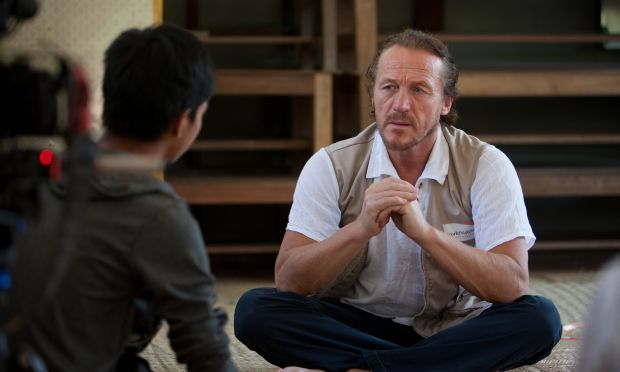 The Visit of UK Celebrity – Jerome Flynn (Game of Throne) to Myanmar | World Vision International