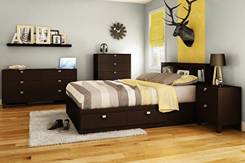 Economical choice does not require a box springStylish metal knobs with satin zinc finishIncreased safety due to rounded corners4 practical drawers (2 on each side), to optimize storage in your child?s bedroomTo form a complete bed Assembly Required Yes Product Height 14.5