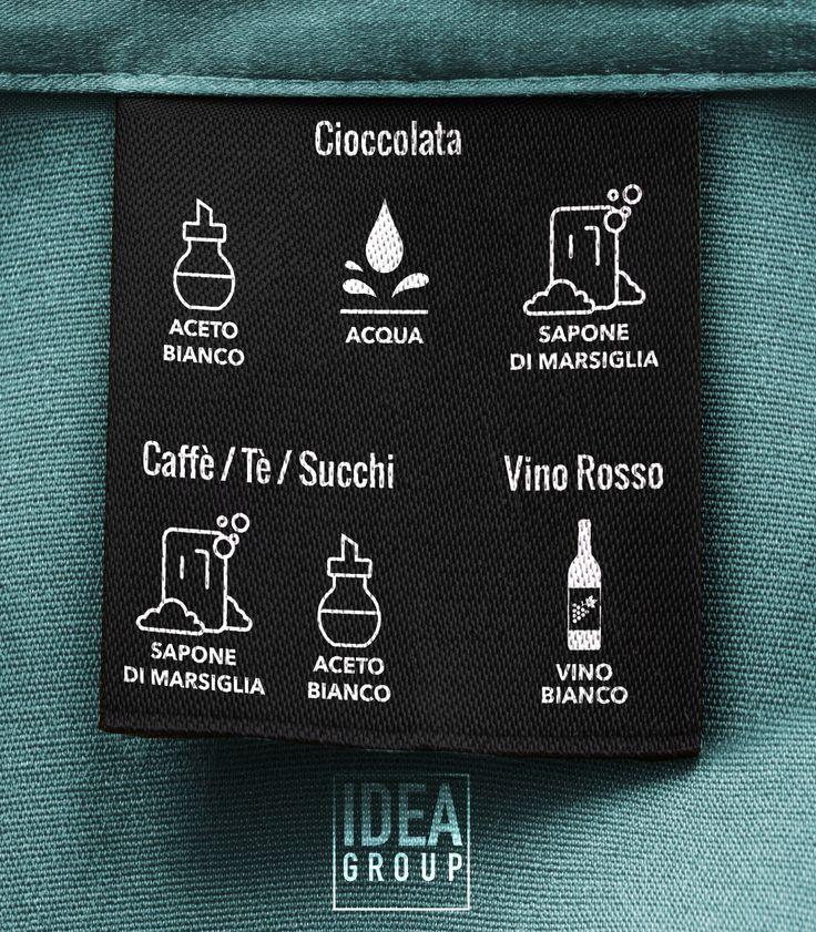 Come smacchiare con prodotti naturali i vostri capi, da cioccolata, caffè, tè, succhi e vino rosso? Ve lo spieghiamo in una semplice infografica! #tutorial #faidate #lavanderia