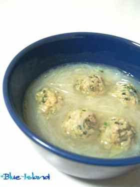 残った餃子のたねで*白湯春雨スープ* by Blue-Island [クックパッド ...
