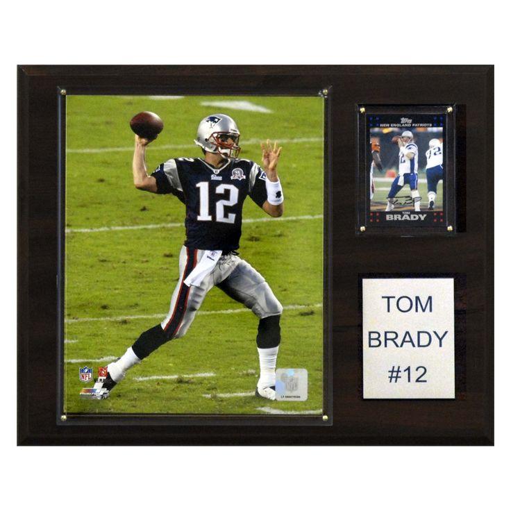 NFL 12 x 15 in. Tom Brady New England Patriots Player Plaque - 1215BRADY