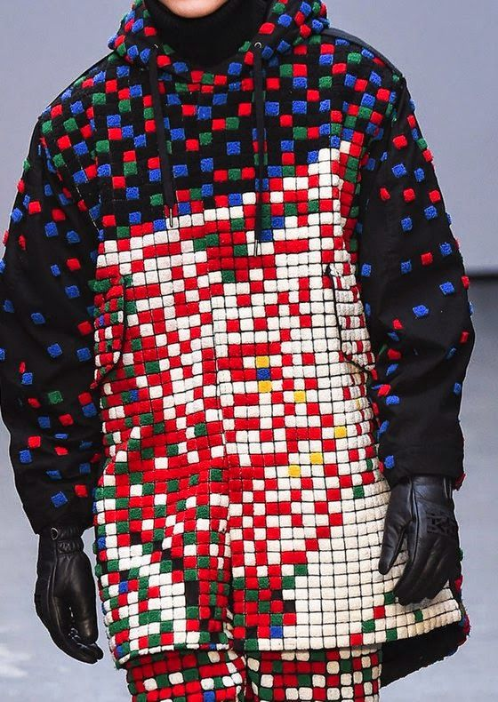 patternprints journal: PRINTS, PATTERNS AND TEXTILE SURFACES FROM LONDON CATWALKS (MENSWEAR F/W 2015/16) / KTZ
