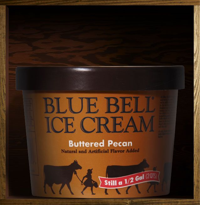 Blue bell tin roof seasonal for Christmas cookie ice cream blue bell