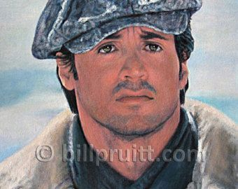 Sylvester Stallone Rocky Balboa Rocky art print 12x16 signed and dated Bill Pruitt