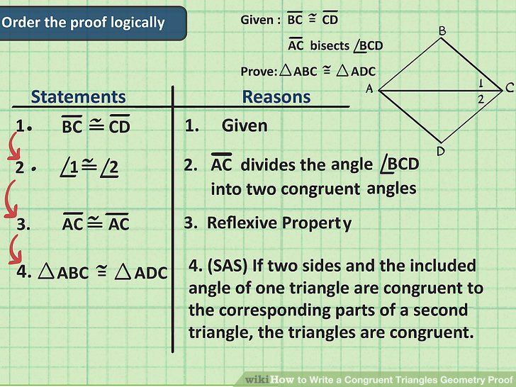 How To Write A Congruent Triangles Geometry Proof Geometry Proofs Geometry Worksheets Scientific Notation Word Problems Geometric proofs worksheet with answers