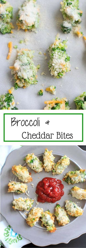 Broccoli Cheddar Bites - perfect snack or finger food for a delicious serving of veggies. Both kids and adults will love them!