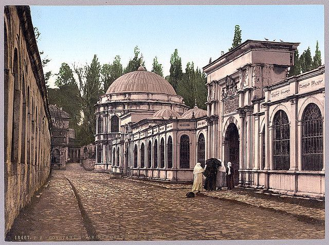 """İstanbul-Street in Eyüp, a section of Constantinople, Turkey, (LOC) via nevin kurtay  """"Preserve, reserve, serve; the life and times of istanbul at the heart of historical center."""" www.armadaistanbul.com www.armadaistanbulculture.com"""