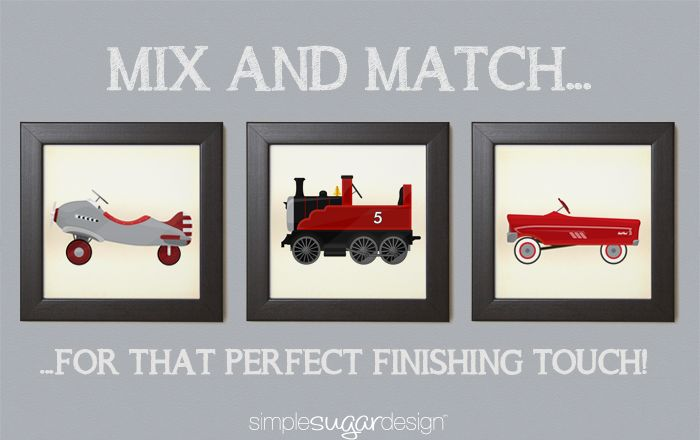Coordinating prints for that perfect finishing touch! www.simplesugardesign.com