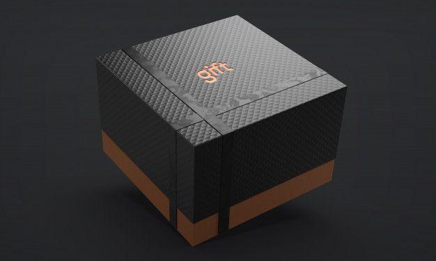 Download Luxury Gift Box With Ribbon Premium Psd Freepik Psd Mockup Ribbon Texture Gift In 2021 Luxury Gift Box Luxury Gift Gift Box