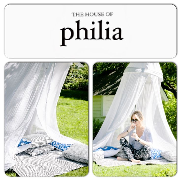 The white canopy appeared in The House of Philia blog