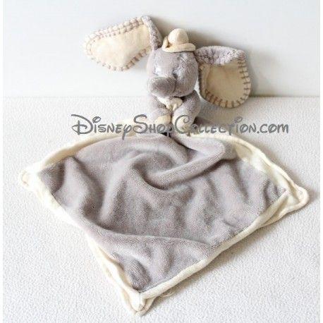Doudou Dumbo DISNEY SIMBA DICKIE éléphant gris beige 40 cm