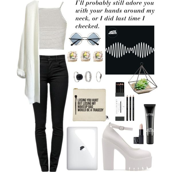 Untitled #18 by kjllic on Polyvore featuring polyvore fashion style Topshop Proenza Schouler Miss Selfridge NARS Cosmetics MAC Cosmetics Sephora Collection Mark's Tokyo Edge