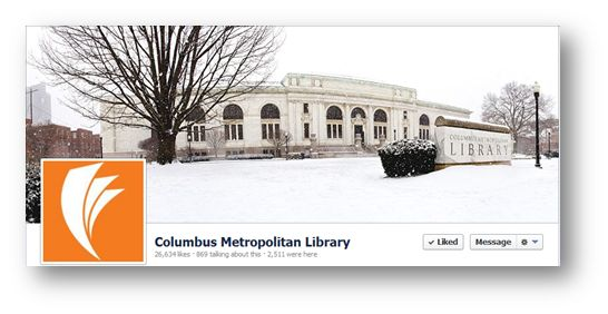 """100 Libraries To Follow On Facebook"" - Blog article by Matt Anderson of mattanderson.org. 2013."