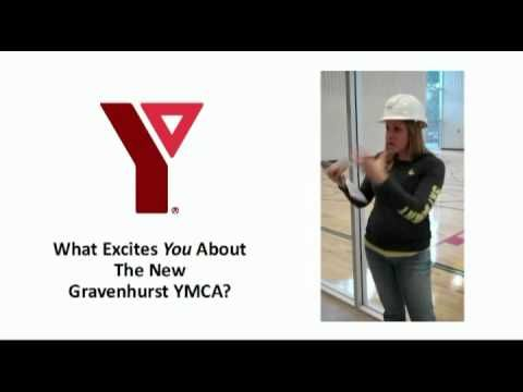 The New Gravenhurst YMCA - What Excites You?