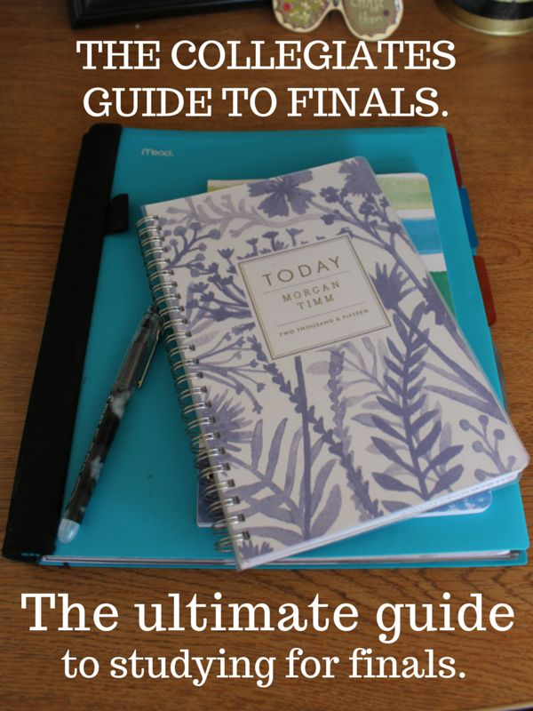 The ultimate guide to studying for college finals. Tips for students preparing for exams