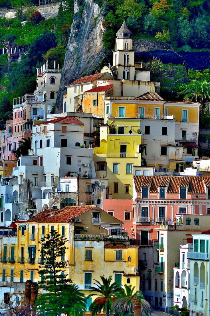 Amazing Places - Amalfi - Italy (by Antonio Salsano ©Salsano2016 -...