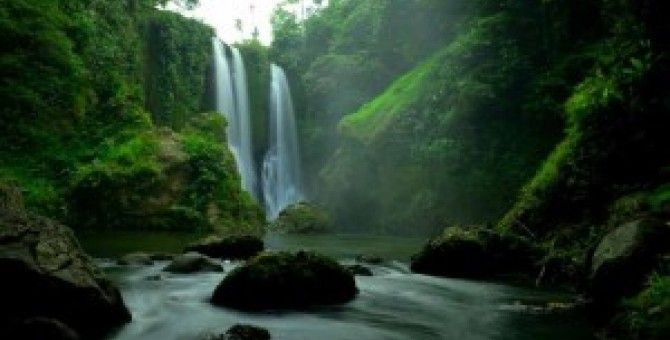 Waterfalls Three Levels of indonesia