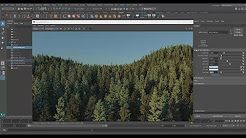 MASH and Arnold in Maya 2018: Create a 620,000,000 Poly Forest in 10 Minutes --you can preview Standins in wire-frame, point cloud or bounding box on a per-proxy basis.