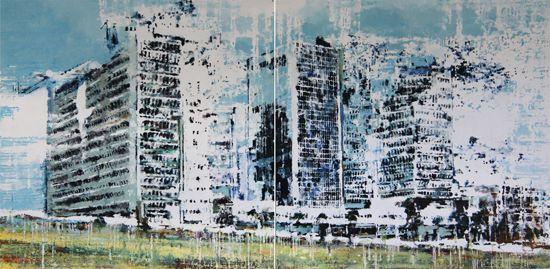 Galerie Daniel Templon - Artiste-Philippe Cognée