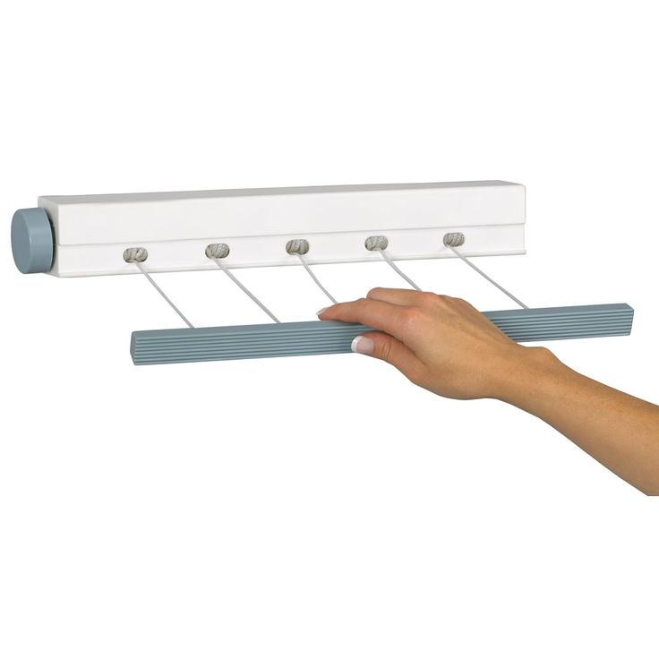 Retractable indoor clothesline for the laundry room sigma tile