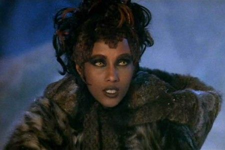 """Iman portraying one of the many """"changeling"""" races in the Star Trek universe. Good form."""