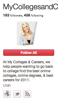 MyColleges & Careers: Career Info